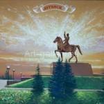 "Panich VI 40x50 x / 2016 m . ""Lugansk Rider"" $ 90"