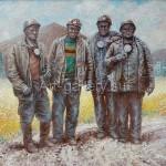 "Panich VI 60x80 x / 2016 m . "" Lugansk heroes "" 430 $"