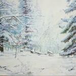 "Serdyukov AG 50x70 x / 2009 m . ""Fairy Tale"" 110 $"