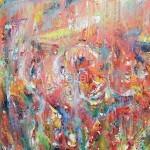 """Стегэреску Т.И. 130х100 х/м 2013г. """"Аромат осеннего мака"""" Находится в частной коллекции"""