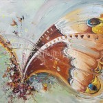"""Стегэреску Т.И. 160х110 х/м 2010г. """"Бабочка"""" Находится в частной коллекции"""