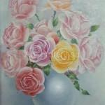 """Panich VI 31h41 x / 1997 m . """"Roses"""" $ 70"""