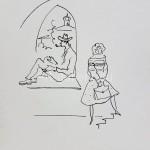 Киверина Е.М.  рисунок  находится в частной коллекции