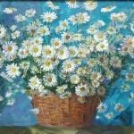 "Bugorkov S.S. 75h109 2007  "" Daisies "" 200 $"
