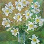 "Bugorkov S. s 60x60 x/m 2013. ""Lily"" 115$"