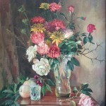 Солодов Николай Васильевич х/м *цветы и фрукты* 60х51см 1986год 230$