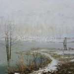 "Stegeresku TI 50,5h65 x / 2010 m . ""Spring Mist"" Located in a private collection"