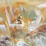 Стегэреску Тудор х/м 200х50 *зимнее Чёрное море* 2012год