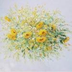 Stegaresku Tudor ion wildflowers x/m 70х80 2001 170$