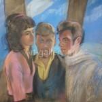 Киверина Елена Михайловна.  Картина находится в частной коллекции
