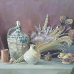 "Nekolov S.S. 70h85 x / 2010 m . "" Autumn Still Life "" $ 325"