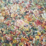 "Stegeresku TI 130h100 s / m 2013 . ""Autumn Rose"" Located in a private collection"