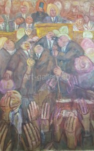 "Gubsky I. K. 99х65 K. M. 1993. ""In Parliament,"" 1500$"