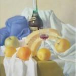 """Yakovlev, Alexander. 50x40 H. M. 2003. """"A little brandy"""" 210$"""
