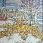 Vasil'chenko V. I. 44.5х55 2013. oil on canvas 140$