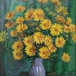 "Bugorkov Sergey Stepanovich. 60х50 K. M., 2013, ""Yellow flowers"""