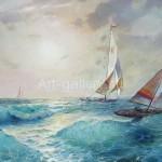 Serdyukov A. G. 50x70 oil on canvas, 2000. 145$