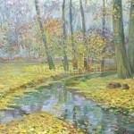 "Nikolov Sergey Vasilyevich. 35х40 oil on canvas, 2006 ""Autumn"", 120$"