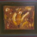 "Nikolov Sergey Vasilyevich. 50x60 oil on canvas 2005 ""Composition"" 280$"