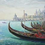 "Serdyukov A. G. 50x70 oil on canvas ""Venice"", 2009. 145$"