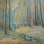 "Mustakimov Georgy Stepanovich. 40x50 oil on canvas, 2000. ""Autumn"" 40$"