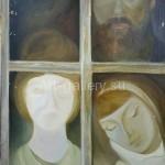Keverina Elena. 70x90 oil on canvas. 1967 400$