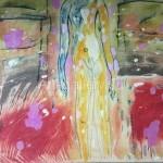 "Chelombitko Novel. 45х70 oil on canvas, 2005. ""Ukraine"" 10$"