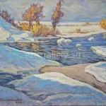 Vasil'chenko V. I. 49х44 oil on canvas, 2010. 120$