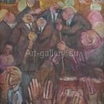 Губский И.К. 99х65 к.м. 1993г. «В Раде» 700$