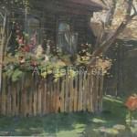 """Hodakov VI 54 / 34,5 x / m 1962 """"Autumn"""" $ 90"""
