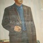 """Davydov V. T. 118х78 x/m 1975 """"Sholokhov"""" 1440$"""