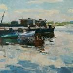 """Tartakovsky I. 50х35 org/m 1962 """"Barge"""" 960$"""