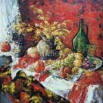 "Timashev NV 70x70 x / 2014 m . "" Still life "" 215 $"